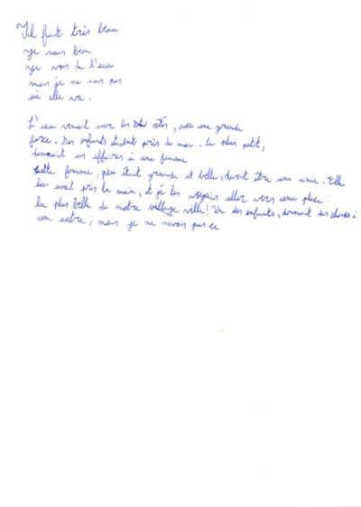 Dysgraphie, quelques exemples - Sylvie Tramasure